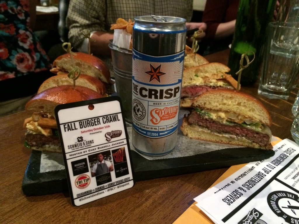 Fall_Burger_Crawl_FBC1_Burger_Conquest_Russell_Jackson_Sixpoint_Schweid_and_Sons_101114_2621
