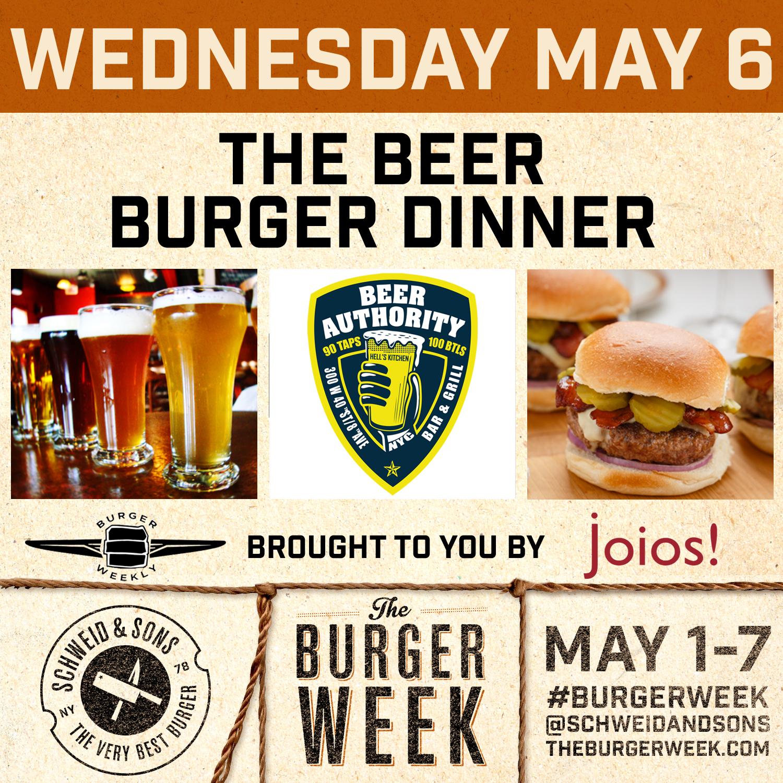 4th Annual NY Burger Week, May 1-7, 2015