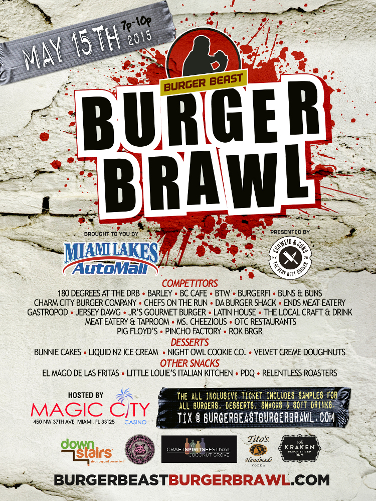 Burger-Beast-Burger-Brawl-2015-Schweid-and-Sons-Poster