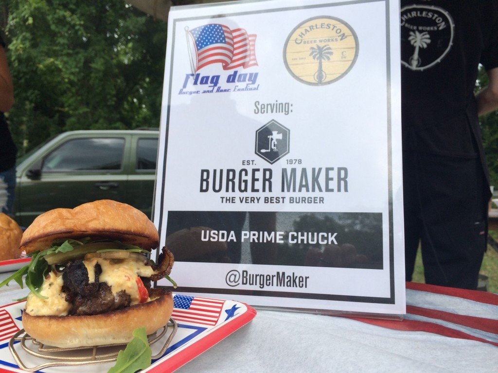 Flag_Day_Burger_and_Beer_Festival_Charletson_SC_Holy_City_Brewing_Burger_Maker_061414_6418-1024x768