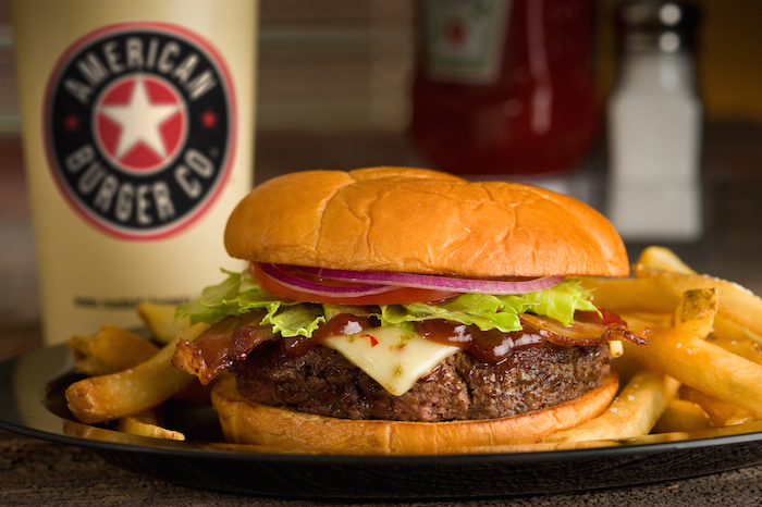 American Burger Co. Route 66 Burger