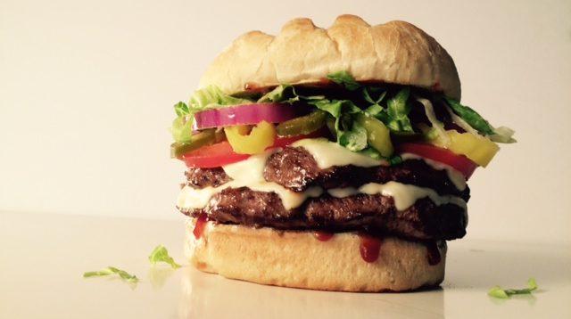 BYO Double Burger