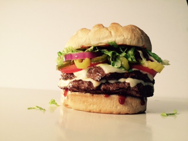 BYO Double Burger