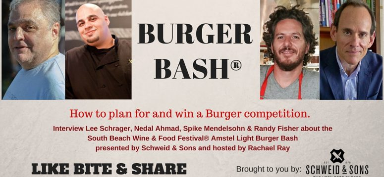 How to win the NYCWFF & SOBEWFF Burger Bash.