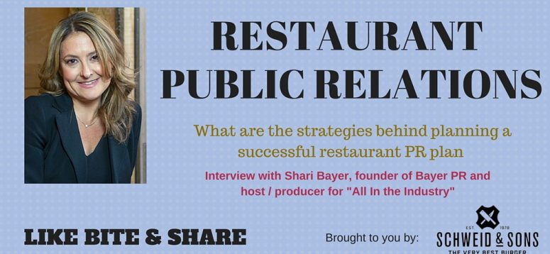 What are the strategies behind planning a successful restaurant PR plan?