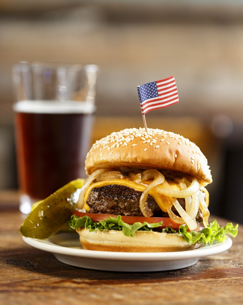 The Thick Pub Classic Burger Recipe from George Motz ...
