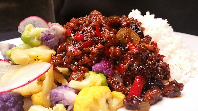 How To Make Smoked Ground Beef and Smoked Brisket Picadillo by Chef Wenford Patrick Simpson — Recipe
