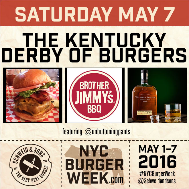 NYC Burger Week – The Kentucky Derby of Burgers at Brother Jimmy's