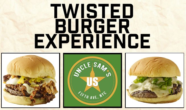 NYC Burger Week 2016: Twisted Burger Experience