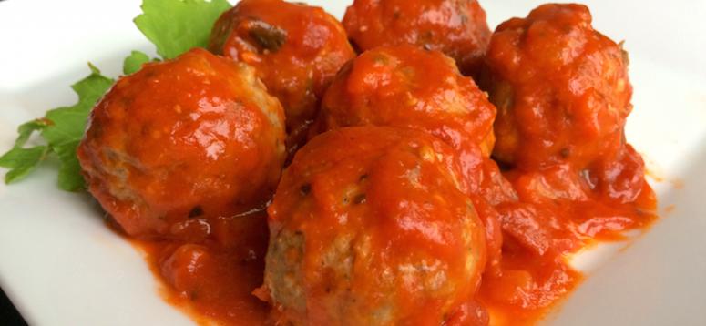 No Apologies Rosemary Meatballs — Recipe