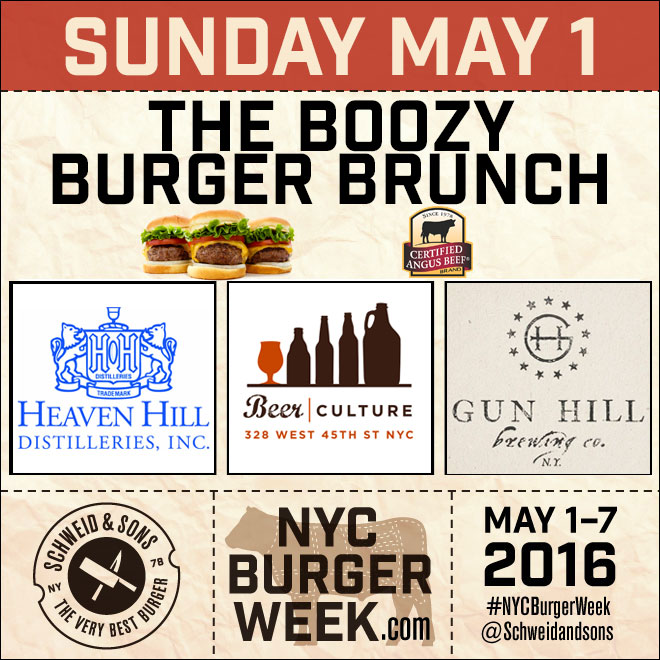 NYC Burger Week – Boozy Burger Brunch at Beer Culture