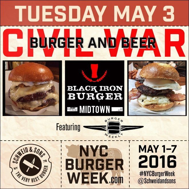 NYC-Burger-Week-2016-Burger-and-Beer-Civil-War-Schweid-and-Sons