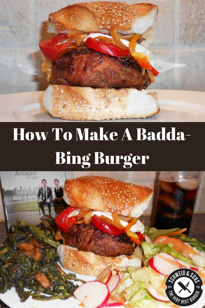 How To Make A Badda-Bing Burger