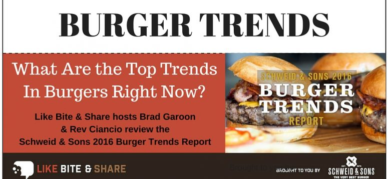 What Are the Top Trends In Burgers Right Now?