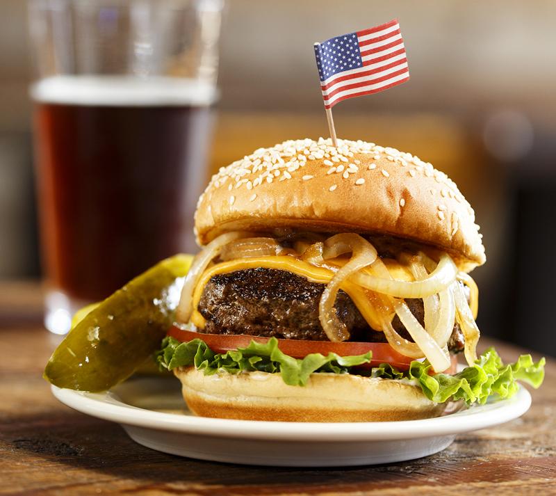 Открытки пятницей, картинки на тему американская еда