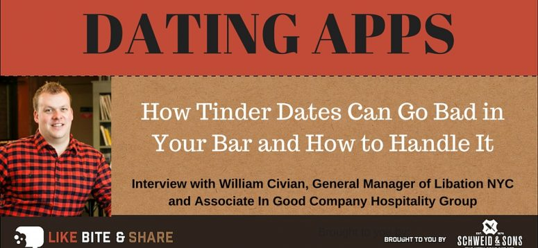 How Tinder Dates Can Go Bad in Your Bar and How to Handle It