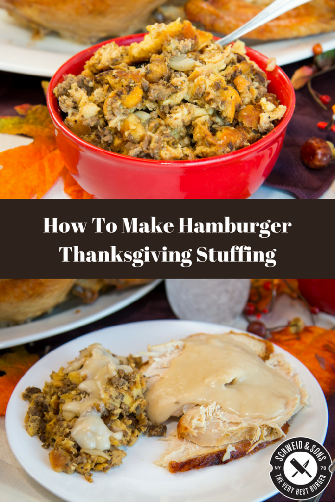 hamburger-stuffing