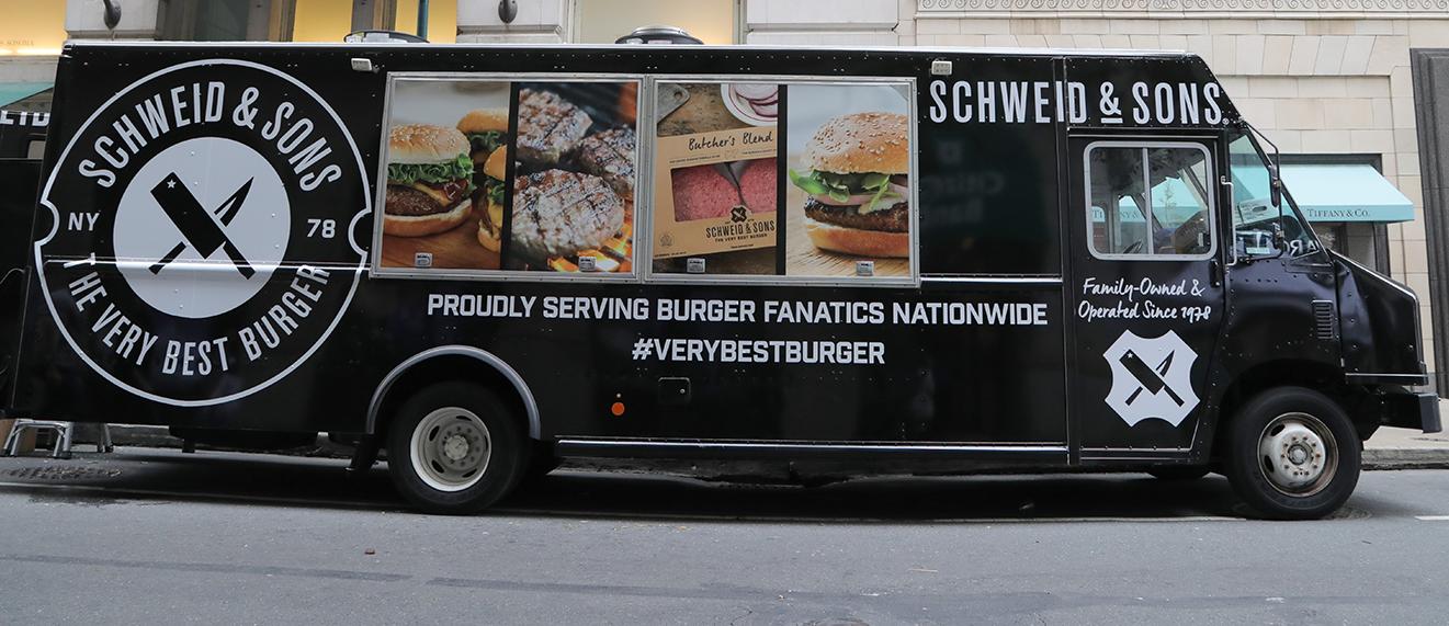 The Very Best Burger Truck Schweid Sons