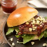 raspberry burger