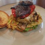 OMG burger (Onions, Mushrooms and Gouda)