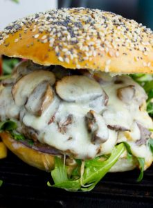Spicy Mount Mushburger