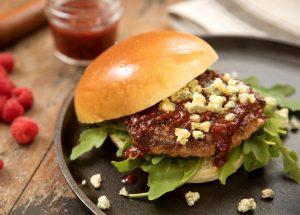 Blue Cheese Garden Burger