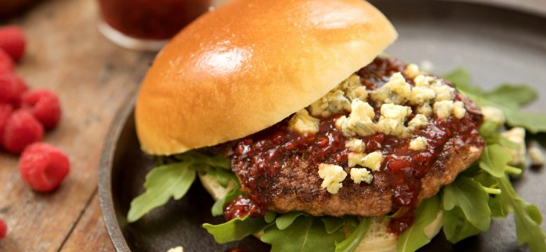 Blue Cheese Garden Burger