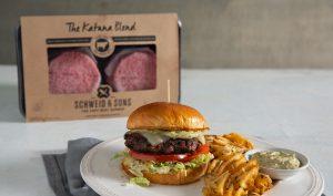 katana blend burger